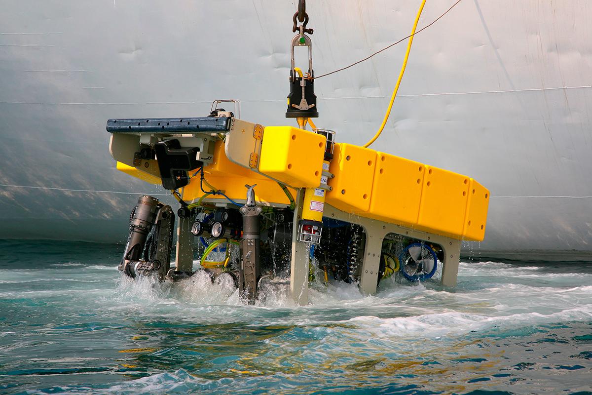 Sous-marin ROV